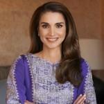 الملكة رانيا تهنئ الفائزة بلقب The voice