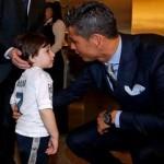 رونالدو يحقق حلم الطفل اللبناني حيدر