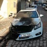 ظاهرة إحراق السيارات تعود إلى إسطنبول