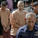تايلاند تعدم اثنين من ميانمار لقتلهما سائحين بريطانيين