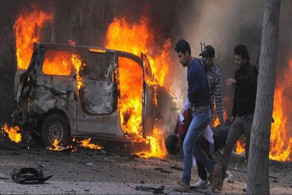 انفجار سيارة مفخخة في سوريا -أرشيفية