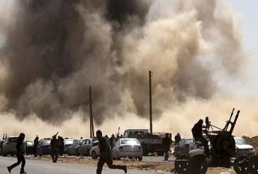 تجدد الاشتباكات بين الجيش الليبي ومقاتلي مجلس شورى إجدابيا