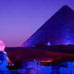 أهرامات مصر تستعد لاستقبال العام الجديد