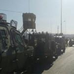 الاحتلال يغلق مداخل نابلس في الضفة الغربية