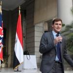 السفير البريطاني بالقاهرة يدين جرائم القتل في المنيا