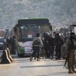 إخلاء بلدات شيعية وسنية في سوريا بموجب اتفاق