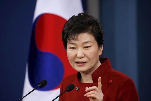زعيمة كوريا الجنوبية-رويترز