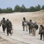 فيديو| الألغام وقناصة «داعش» وراء تراجع قوات سوريا الديمقراطية في منبج