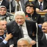 نائب يطالب بإسقاط عضوية مرتضى منصور بالبرلمان المصري