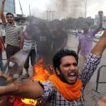 القوميون الهندوس يحتشدون غرب الهند لاستعراض القوة