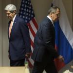 لافروف وكيري يجتمعان في نيويورك لبحث وقف إطلاق النار في سوريا