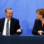ميركل وأردوغان يبحثان الملفين الليبي والسوري