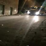 قوات الاحتلال تطلق الرصاص الحي على الفلسطينيين بنابلس