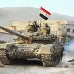 فيديو| القوات السورية تدخل إلى قلب مدينة تدمر