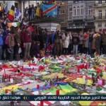 فيديو| تأبين ضحايا هجمات بروكسل وسط هتافات ضد «داعش»