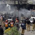 مقتل شرطي في تفجيرين بشمال غرب باكستان