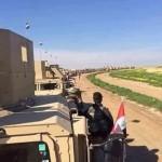 الجيش العراقي يسقط منشورات فوق الموصل استعدادا لعملية عسكرية