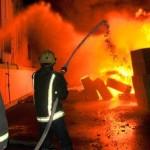 إصابة 6 بحريق في منصة نفطية بقطر