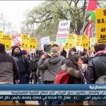 فيديو  تظاهرات أمام البيت الأبيض تندد بالدعم الأمريكي لإسرائيل