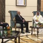 رئيس البرلمان الليبي في أبوظبي بحثا عن دعم الإمارات لمواجهة الإرهاب
