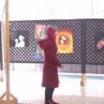 فيديو| معرض للفنانة ندى أبوهيكل في يوم الثقافة الوطنية بفلسطين