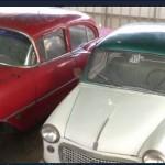 فيديو| فلسطيني يجمع السيارات الكلاسيكية القديمة