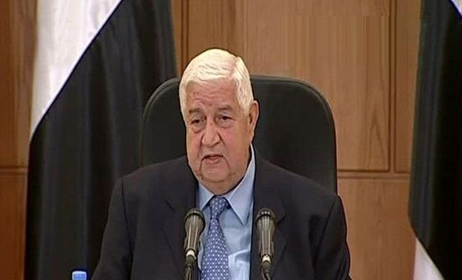 المعلم: الحكومة السورية ستلتزم بخطة «تخفيف التوتر»