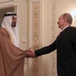بوتين يلتقي بن زايد في موسكو لمناقشة الأمن بالشرق الأوسط