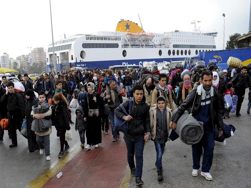 نظام الهجرة الجديد يضع أعباء إضافية على الاقتصاد اليوناني