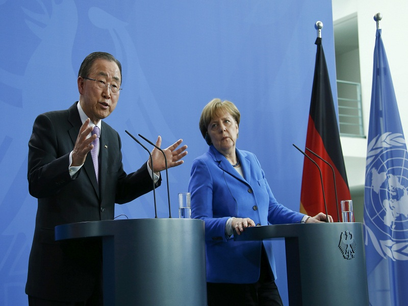 بان كي مون يحث الأطراف السورية على إبداء حسن النوايا