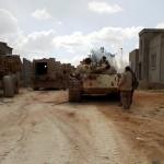 قوات ليبية تتصارع مع قناصة «داعش» على شوارع سرت