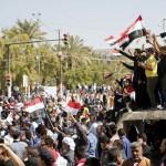 المعتصمون في المنطقة الخضراء ببغداد يعلنون انسحابهم