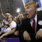 فيديو| حملة ترامب تواجه تظاهرات مناهضة بـ«العنف»