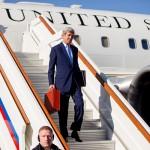 جون كيري يبحث مستقبل الأسد في موسكو