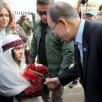 «حماس» ترحب بزيارة بان كي مون لمخيم نهر البارد في لبنان