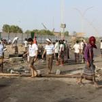 ميليشيات الحوثي وصالح تقتحم لواء العمالقة شمال اليمن
