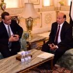 ولد الشيخ يلتقي هادي في الرياض لعرض شروط الحوثيين لوقف القتال