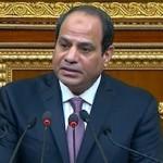 السيسي يطالب بتكثيف جهود البحث عن الطائرة المصرية المنكوبة