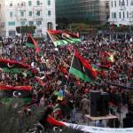 فيديو| احتجاجات في بنغازي ضد حكومة الوفاق الليبية