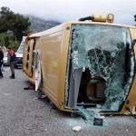 مقتل 24 في اصطدام حافلة بشاحنة وقود في المكسيك