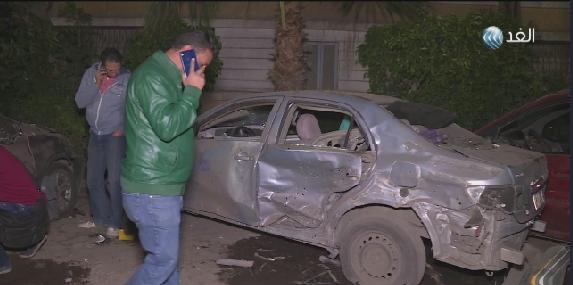 فيديو| انفجار أمام سفارةعمان في مصر دون خسائر في الأرواح