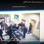 فيديو  مختطف الطائرة المصرية في مطار برج العرب قبل الحادث