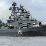 سفينة حربية روسية تغادر القرم متجهة للبحر المتوسط