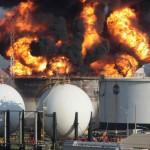 6 جرحى جراء حريق بمنصة نفطية في قطر