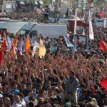 أتراك يحتجون على تقاعس الحكومة بعد سقوط صواريخ على بلدة حدودية