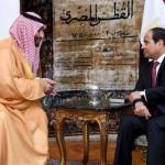 محمد بن سلمان يصل مصر.. والسيسي يستقبله بمطار القاهرة