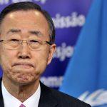 بان كي مون يدعو لتقليل عدد النازحين إلى النصف بحلول 2030