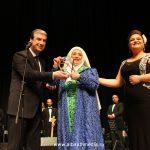 صور| تكريم نجاح سلام على مسرح دار الأوبرا في دمشق