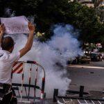صور| الأمن المصري يفض مظاهرات معارضة في العاصمة المصرية