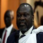 مشار يؤدي اليمين الدستورية نائبا لرئيس جنوب السودان ويدعو إلى المصالحة
